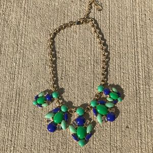 Stella & Dot rock candy cluster necklace